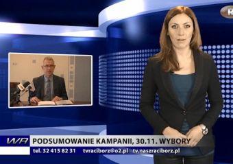 Najnowsze filmy wideo - Podsumowanie kampanii. 30.11. wybory, telewizja nasz Racibórz