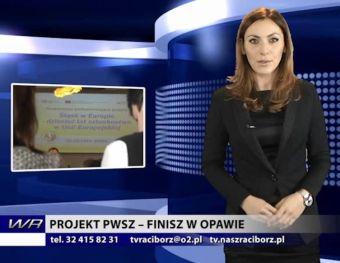 Najnowsze filmy wideo - Projekt PWSZ finisz w Opawie, telewizja nasz Racibórz