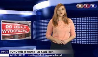 Najnowsze filmy wideo - Ponowne wybory 26 kwietnia, telewizja nasz Racibórz