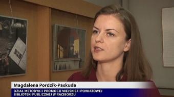 Najnowsze filmy wideo - Tydzień bibliotek, telewizja nasz Racibórz