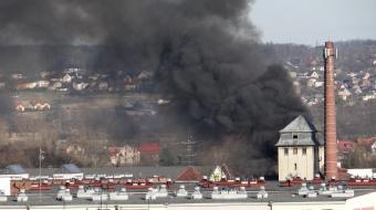 Najnowsze filmy wideo - Pożar przy ulicy Eichendorffa, telewizja nasz Racibórz