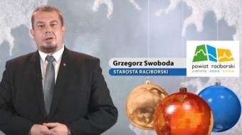 Najnowsze filmy wideo - Życzenia świąteczne starosty raciborskiego, telewizja nasz Racibórz
