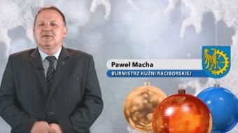 Najnowsze filmy wideo - Życzenia świąteczne burmistrza Kuźni Raciborskiej, telewizja nasz Racibórz