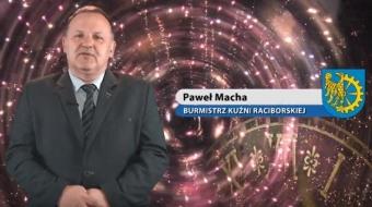 Najnowsze filmy wideo - Życzenia noworoczne burmistrza Kuźni Raciborskiej, telewizja nasz Racibórz