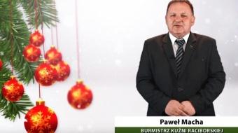 Najnowsze filmy wideo - Życzenia burmistrza Kuźni Raciborskiej, telewizja nasz Racibórz