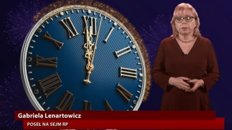 Najnowsze filmy wideo - Życzenia posłanki G. Lenartowicz, telewizja nasz Racibórz