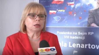 Najnowsze filmy wideo - Konferencja u Gabrieli Lenartowicz, telewizja nasz Racibórz