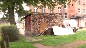 Najnowsze filmy wideo - Zwłoki mężczyzny przy śmietniku, telewizja nasz Racibórz