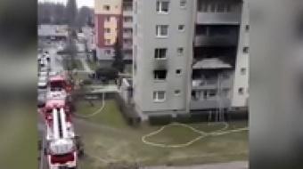 Najnowsze filmy wideo - Pożar w bloku na Słowackiego, telewizja nasz Racibórz