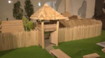 Najnowsze filmy wideo - Budowa średniowiecznego grodu, telewizja nasz Racibórz