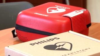 Najnowsze filmy wideo - Starosta przekazał defibrylator, telewizja nasz Racibórz
