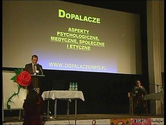 """Najnowsze filmy wideo - Konferencja nt. """"dopalaczy"""", telewizja nasz Racibórz"""