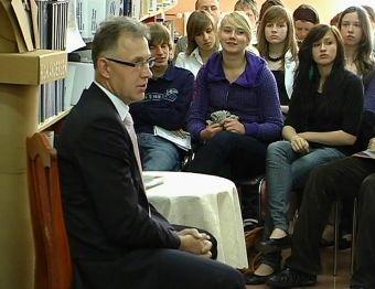 Najnowsze filmy wideo - Prezydent rozmawiał z młodzieżą, telewizja nasz Racibórz